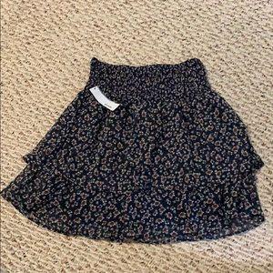 Garage brand floral skirt